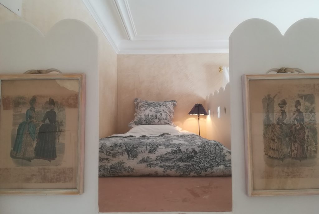 rachel piquemal chambres d'hôtes colmar décoration enduit chaux 1900 Castelnau